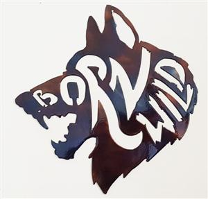New .... Do you see the hidden words in the Wolf?