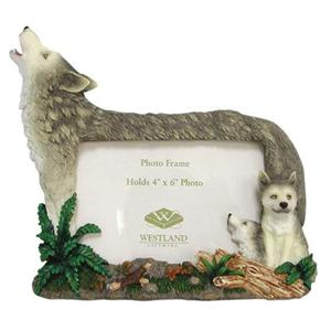 mama wolf and pups frame - Wolf Picture Frames