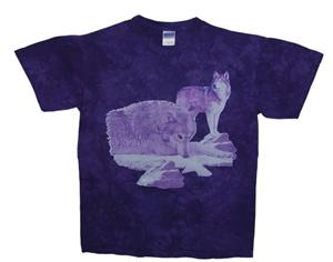 Great colors on this Wolf shirt