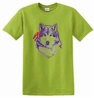 Very cool Wolf Gifrl design