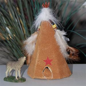 25% off original price ...Comes with Howling Wolf and Teepee