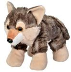 "View details for this 10"" Hug'ems Plush Wolf"