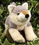 "View details for this 11"" Hug 'Ems Plush Wolf"