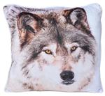 Handsome Wolf Printed Pillow