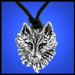 View details for this Wolf Head Pendant Necklace