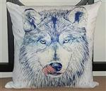 Tastinng Snow Wolf Pillow
