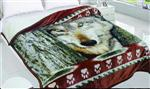 View details for this Wolf Paw Sherpa King Blanket