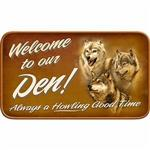 View details for this Wolf Den Doormat