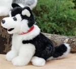 View details for this Black Husky Plush Small