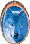 View details for this Blue Wolf Cedar Plaque