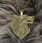 View details for this Celtic Wolf Necklace