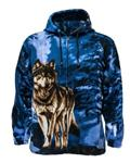 Child's Lone Wolf Fleece Hoodie -CL