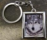 View details for this Chito Wolf Metal Keychain