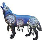 View details for this Dreamcatcher Wolf Figurine