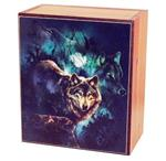Emerging Wolves Cedar Box Small
