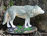 View details for this Gazing Wolf Figurine