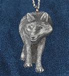 View details for this Gray Wolf Necklace