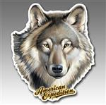 View details for this Gray Wolf Car Magnet