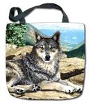 View details for this Wolf Tapestry Tote