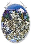 View details for this Howling Wolf Window Art