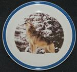 View details for this Howling Wolf Cake Plate