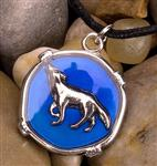Wolf Howl Mood Necklace