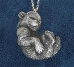View details for this In the Den Wolf Pup Necklace