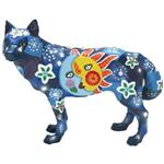 View details for this Las Luces Wolf Figurine