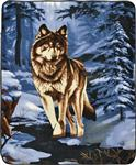 View details for this Lone Wolf Throw Blanket