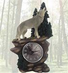 View details for this Lycan Time Wolf Clock