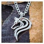 View details for this Majestic Wolf Necklace