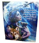 View details for this Moonlit Brethren Wolf Poster