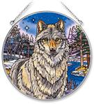 View details for this Night Watch Wolf Window Art