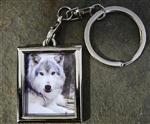 View details for this Niko Akni Wolf Metal Keychain