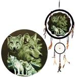The Pack Wolf Mandella with Dreamcatcher