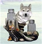 Wolf Salt and Pepper Shaker Set
