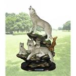 Sanctuary Wolf Figurine