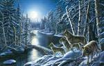 View details for this Silent Shadows Wolf Puzzle