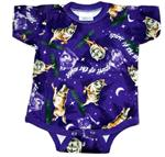 View details for this Wolf Infant Romper - Large