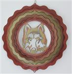 "View details for this Sunrise 7"" Wolf Head Spinner"