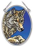 View details for this Timber Wolf Window Art Small