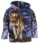 View details for this Toddler Lone Wolf Hoodie - 2T
