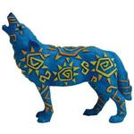 View details for this Tribal Sun Wolf Figurine