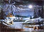 View details for this Two by Night Wolf Puzzle