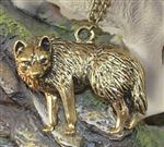 View details for this Vigilant Wolf Necklace