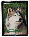 View details for this Wolf Framed Easel Magnet - Wa-ta-chee