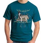Wolf Awareness Week 2012 T Shirt - S