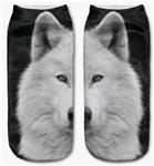 White Wolf Low Cut Socks