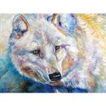 View details for this White Wolf Canvas Wall Art
