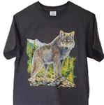View details for this Wild Wolf T Shirt - M